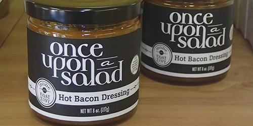 Once Upon a Time Hot Bacon Salad Dressing
